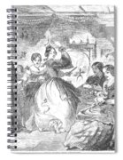 Apple Bee, 1859 Spiral Notebook