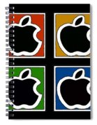 Apple Colors Spiral Notebook