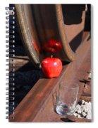 Apple Juice Railroad 4 Spiral Notebook