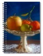 Apple Lemon And Mandarins. Valencia. Spain Spiral Notebook