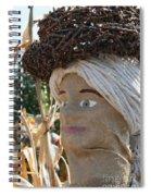 Apple Stick Hat Spiral Notebook