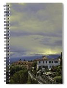 Approaching Storm - Sicily Spiral Notebook