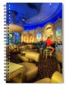 Aqua Bar Spiral Notebook