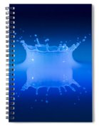 Aqua Blue Spiral Notebook