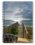 Aqua Seas Spiral Notebook