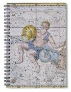 Aquarius And Capricorn Spiral Notebook