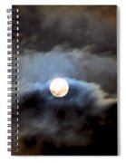 Aquarius Full Moon Spiral Notebook