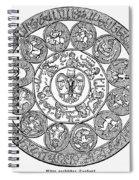Arabic Zodiac Spiral Notebook