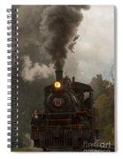 Arcade Steam Engine Spiral Notebook