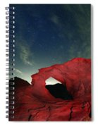 Arch And Stars Spiral Notebook