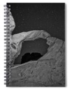 Arch In Valley Of Fire Nevada Spiral Notebook