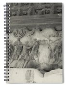 Arch Of Titus, Rome, Italy Spiral Notebook