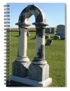 Arch Tombstone Spiral Notebook
