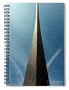 Arch With A Flare Spiral Notebook