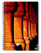 Archaic Columns Spiral Notebook