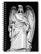 Archangel By Night Spiral Notebook