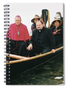 Archbishop Arrives One Spiral Notebook