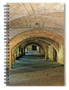 Arched Walkway In Provence Spiral Notebook