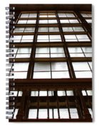 Arched Window Spiral Notebook