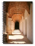 Arches And Shadows Spiral Notebook
