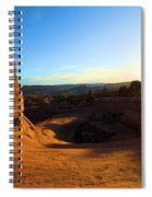Arches Starburst Spiral Notebook