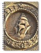 Architectural Detail Ship1 Spiral Notebook