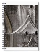 Architectural Detail Triptych Spiral Notebook