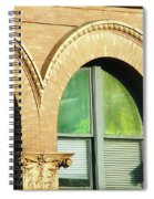 Architecture Memphis Spiral Notebook