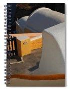 Architecture Santorini Spiral Notebook