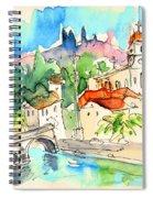 Arcos De Valdevez In Portugal 01 Spiral Notebook