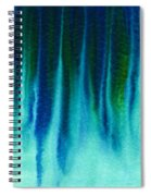 Arctic Spires Of Ice Spiral Notebook