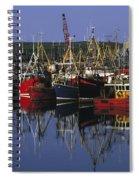 Ardglass, Co Down, Ireland Fishing Spiral Notebook