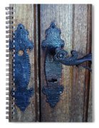 Argentinian Door Decor 1 Spiral Notebook