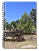 Arizona Wagon Spiral Notebook
