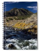 Arkansas River Autumn Spiral Notebook