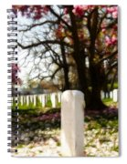 Arlington Cemetary Spiral Notebook