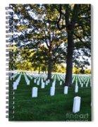 Arlington Cemetery Graves Spiral Notebook