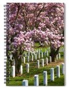 Arlington Cherry Trees Spiral Notebook