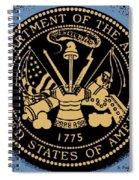 Army Medallion Spiral Notebook