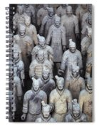Army Of Terracotta Warriors In Xian Spiral Notebook