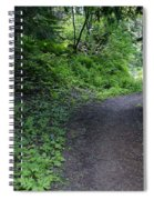 Around Another Bend In The Trail On Mt Spokane Spiral Notebook
