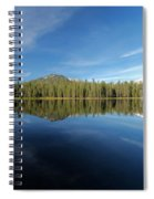 Arrow At Summit Lake Spiral Notebook