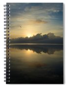 Arrow On The Horizon Spiral Notebook