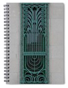 Art Deco 11 Spiral Notebook