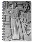Art Deco 15 Spiral Notebook