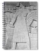 Art Deco 16 Spiral Notebook