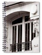 Art Deco 17 Spiral Notebook