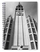Art Deco Church Spiral Notebook