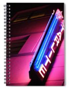 Starlite Hotel Art Deco District Miami 4 Spiral Notebook
