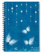 Art En Blanc - S11dt01 Spiral Notebook